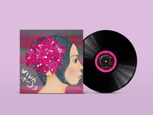中山うり2011年に発表した傑作アルバム『VIVA』が初アナログ化!