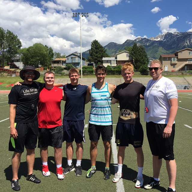 Great session today with the ol Wasatch Front Crew! Had a blast training along side of you guys toda