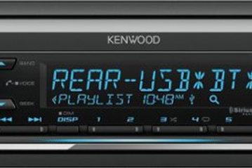 Kenwood - In-Dash CD Receiver - Bluetooth - Satellite Radio