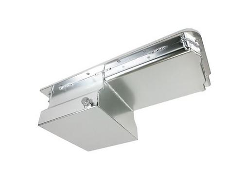 LS Fabricated Aluminum 7-Quart Rear Sump Oil Pan