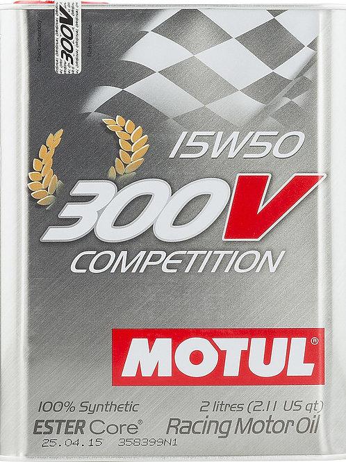 Motul 300V Synthetic Competition Motor Oil - 2 LITER