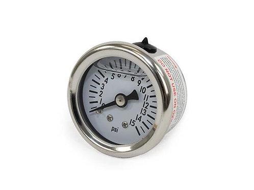 0-100 PSI Liquid-Filled Fuel Pressure Gauge