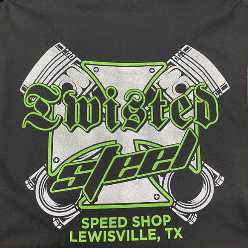 Twisted Steel OG Piston Black Shirt