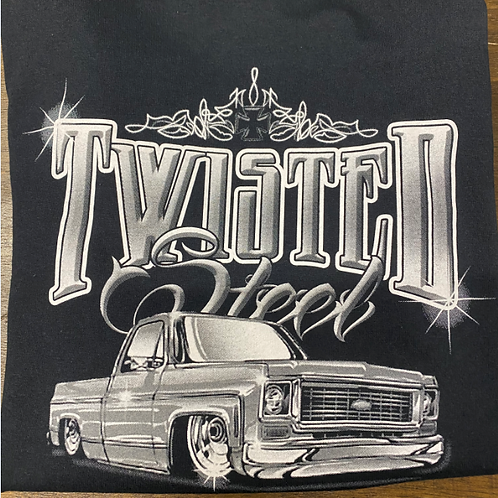 Twisted Steel C-10 Shirt - Black