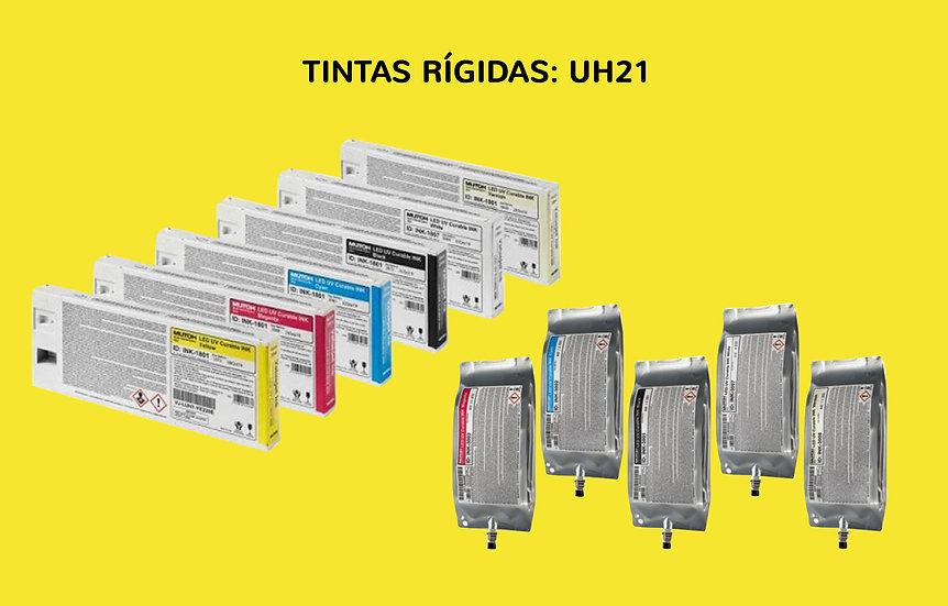 BOLSA MUTOH TINTA RIGIDA UV-LED UH21 800 ML