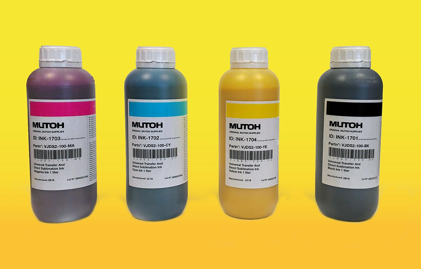 BOTELLA TINTA SUBLIMACION MUTOH DS2 MUTOH 1000 ML