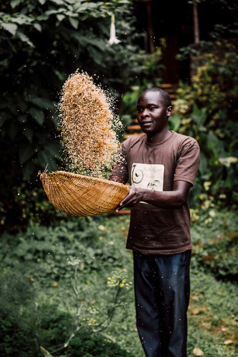 Coffee is sourced directly from local farmers and roasted by our full-time artisans