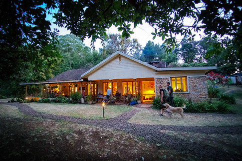 Evening at Sipi River Lodge