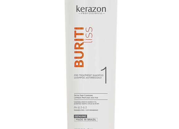 Buritiliss Pre Treatment Shampoo 33.8fl.oz/1L