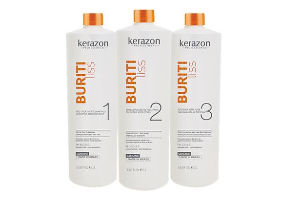 Buritiliss Brazilian Keratin Treatment KIT 33.8fl.oz/1L