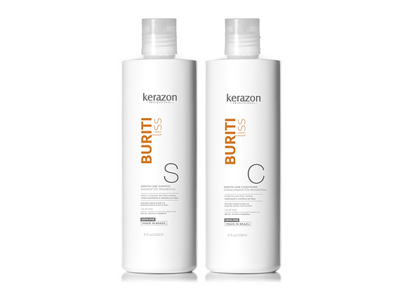 Dual Shampoo and Conditioner After Keratin Care 8fl.oz (236ml)