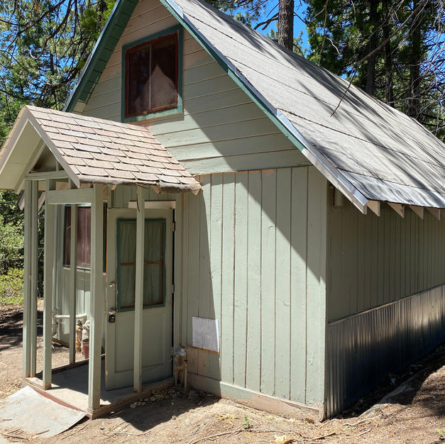 A-Frame Cabin in the Trees