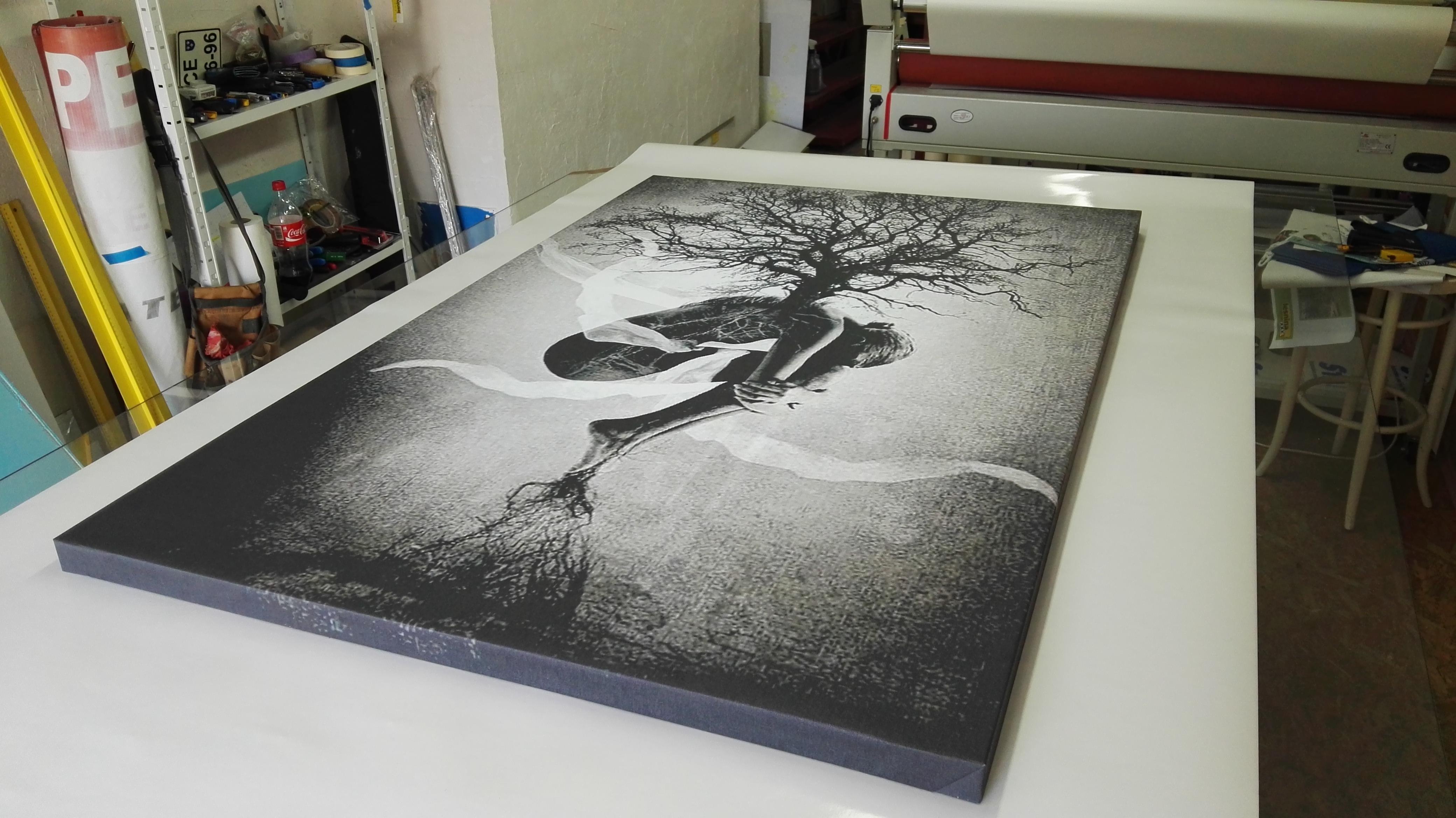 canvas platno