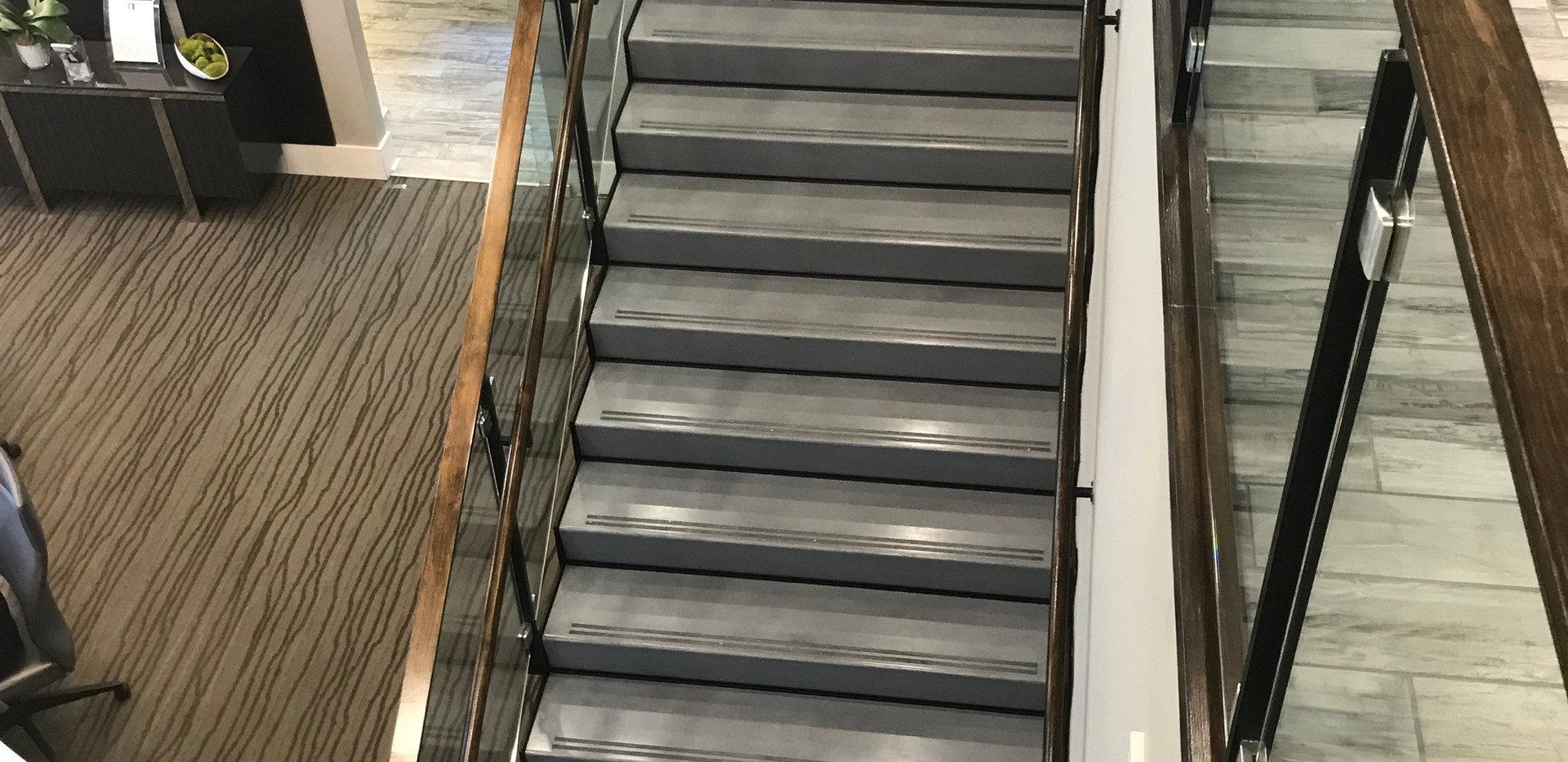Polished Concrete Tread and Riser