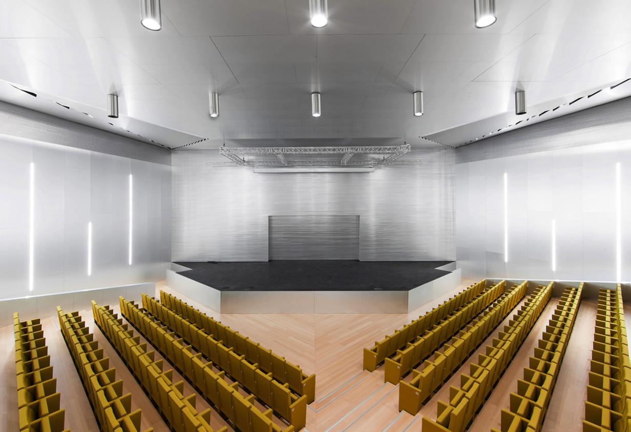 Wood Tread and Riser Auditorium