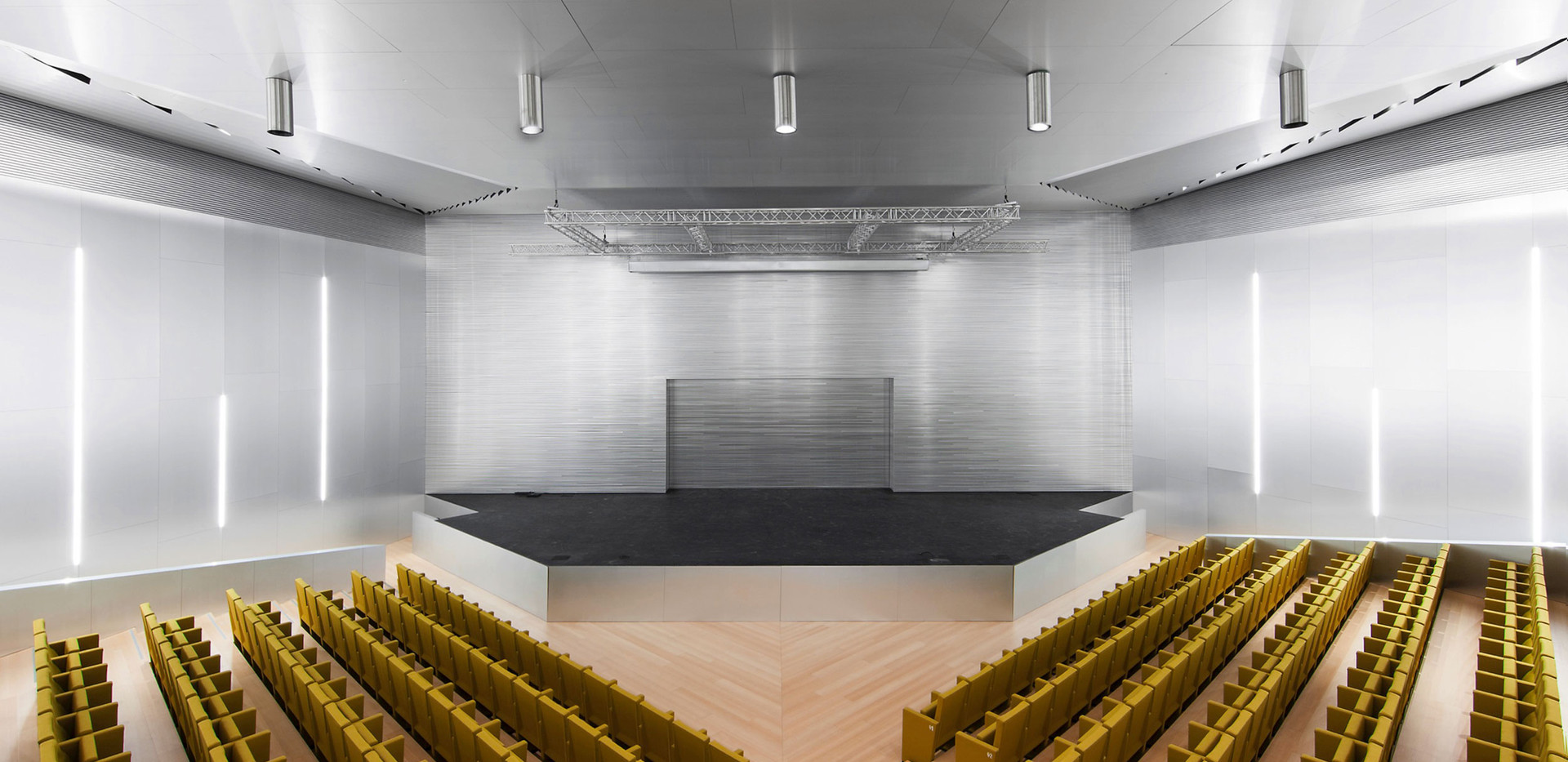 Wood Tread and Riser Auditorium