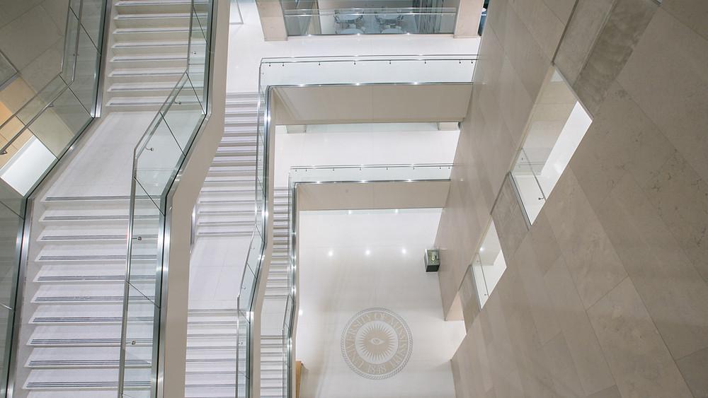 Precast Terrazzo Stairs and Landing