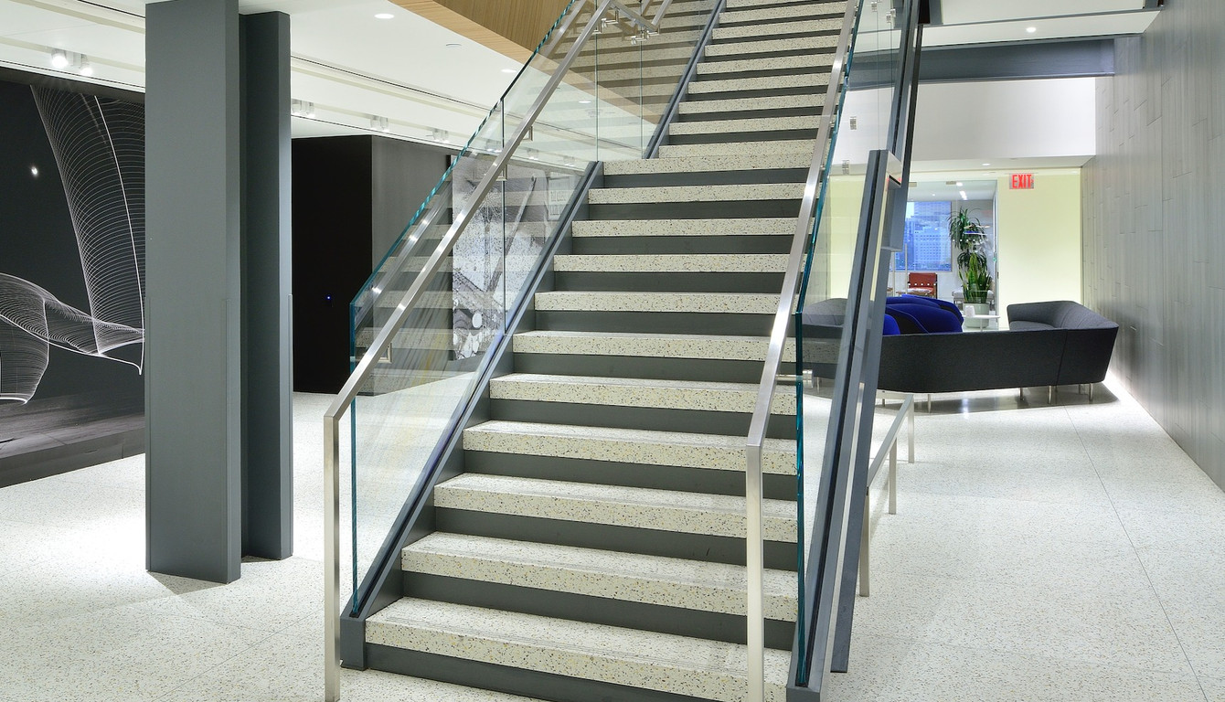 Terrazzo Stair Tread Only