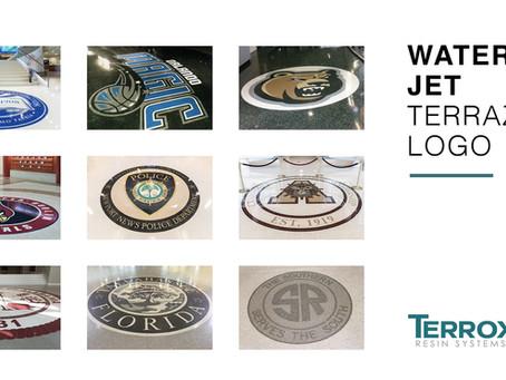 Water Jet Terrazzo Logo