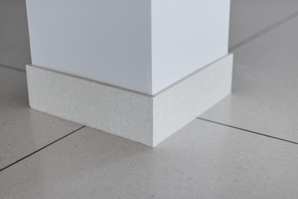 Precast Terrazzo Flat or Straight Base