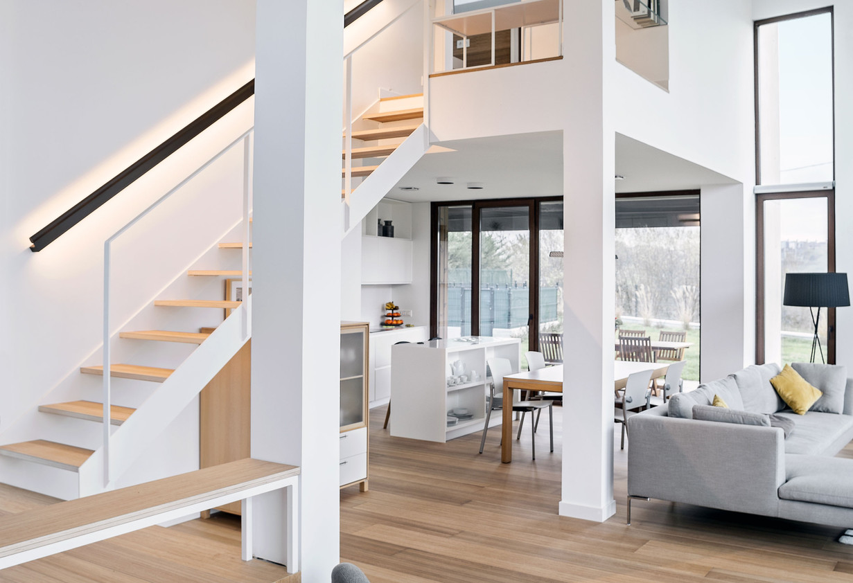 Wood Stair Tread Only Self Supporting Wh