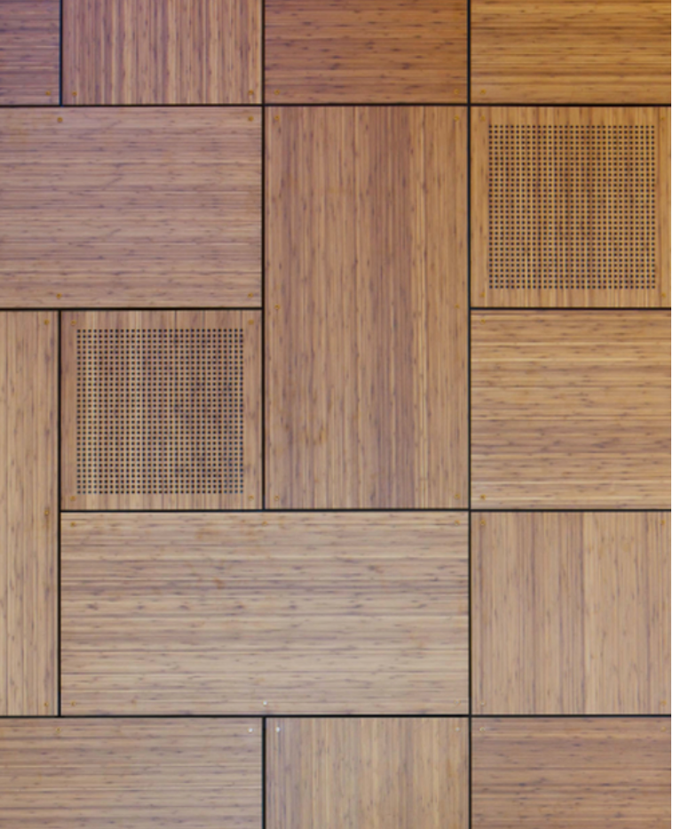 Perforated Wood Panels