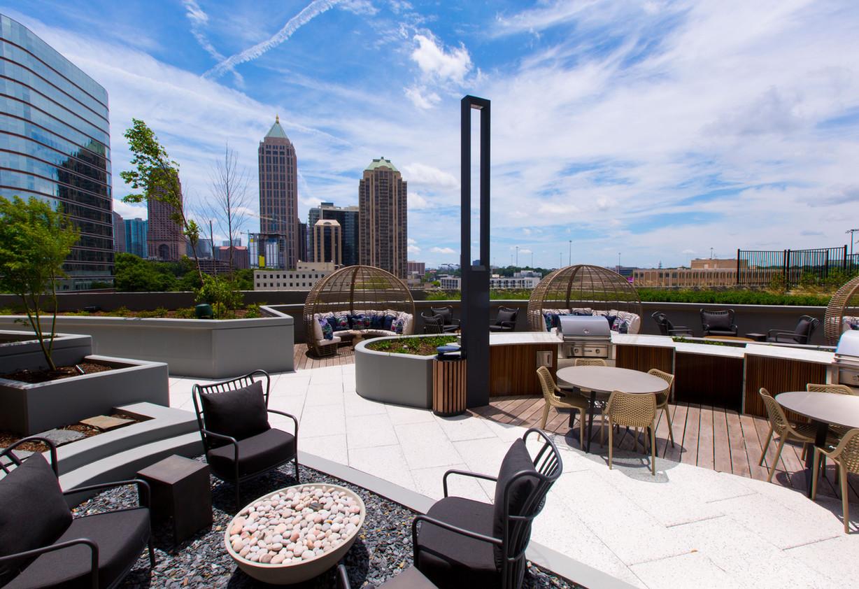 Paver Roof Deck Atlanta