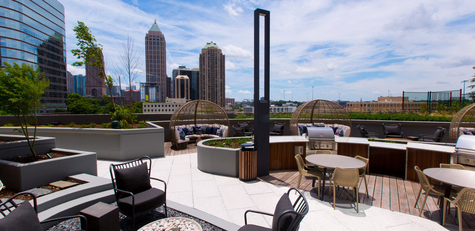 Paver Roof Deck Atlanta