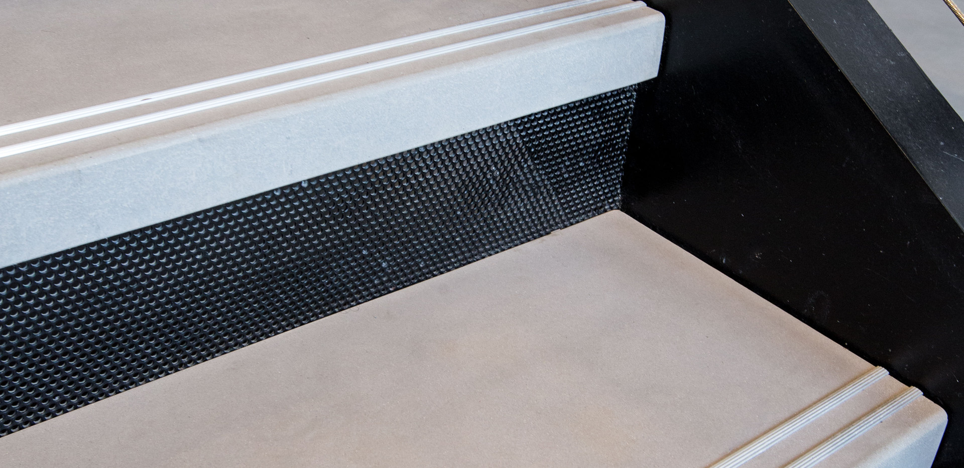 Polished Concrete Stair Tread Detail
