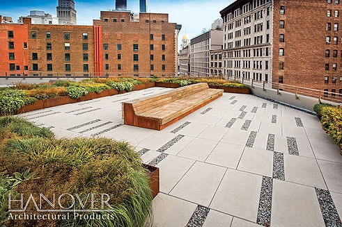 ROOF PEDESTAL PAVERS
