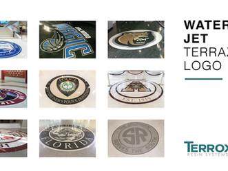 Water Jet Terrazzo Logos