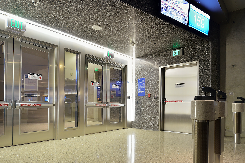 Terrazzo Walls and Ceiling