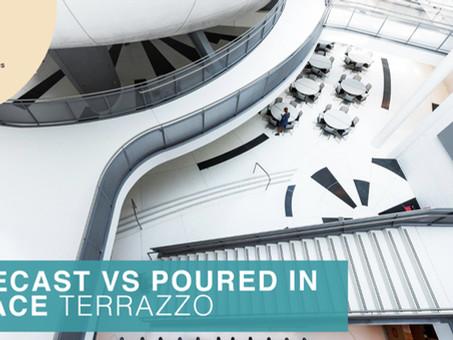 Precast vs Poured in Place Terrazzo