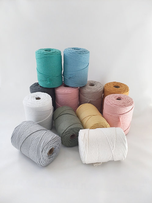 4mmm Recycled cotton by the metre