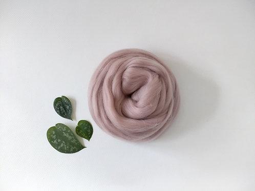 Mink Merino wool roving top