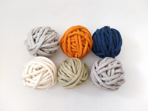 Hand felted wool