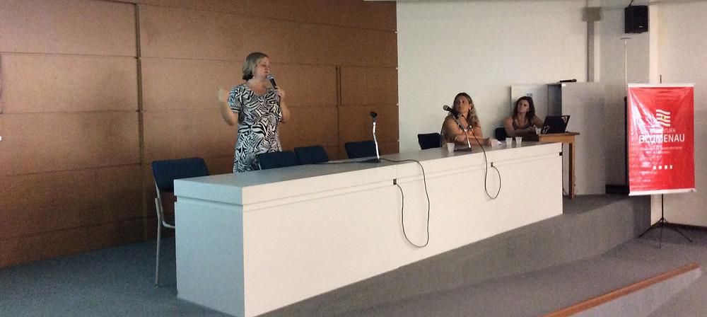 "Marian Natalie Meisen (FURB) fala sobre o ""Projeto Queijo Kochkäse"""