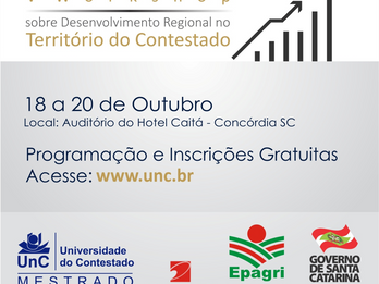 Workshop sobre Desenvolvimento no Contestado