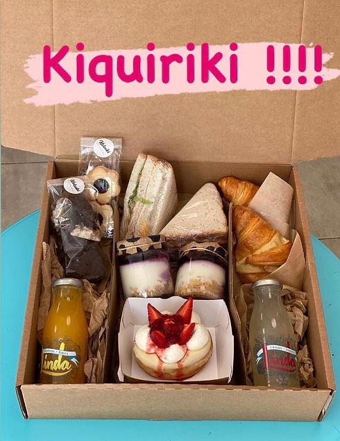 Caixa esmorzar Kiquiriki