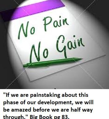 No Pain...No Gain