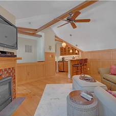 Guest Apartment w/F/P, Balcony, BR, BA