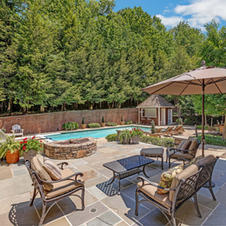 Patio, Fire pit, Lounging Area