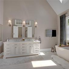 Master Bath, New, Custom