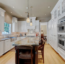 Granite, Country French Cabinetry
