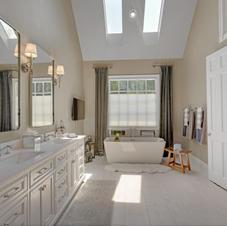 Custom Designed, Frameless Lux Shower