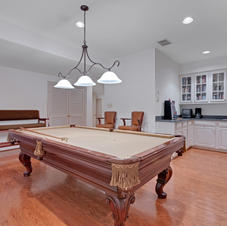 "Pool Table, Bar, Hardwoods, 9"""