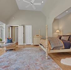 First Floor Master Suite, Vaulted ceilings