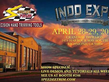 Speedee Trim™ is at the INDO EXPO