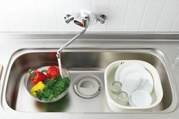 洗い場 食器洗い