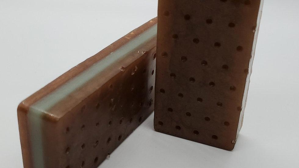 Chocolate Mint Ice Cream Sandwich